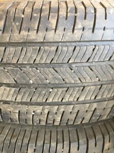 275-65-18 **** 4 Summer Tires ** all at approx. 7/32nds