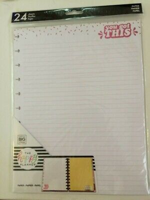 The Happy Planner You Got This Planner Page Refill- 240 Sheets