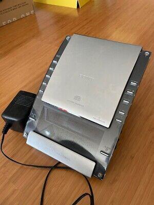 USED Sony ICF-CD7000 Dream Machine CD AUX AM/FM Radio Dual Alarm Clock