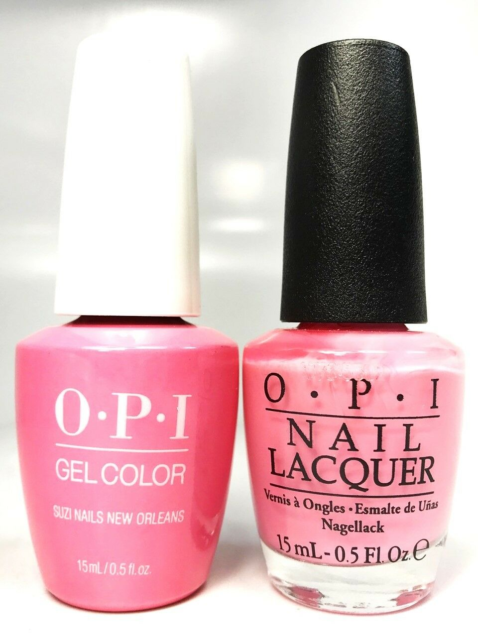 Opi Soak-Off GelColor Gel Polish + Nail Polish Suzi Nails New ...