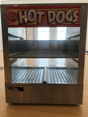Apw Wyott Hot Dog Steamer Ds-1a