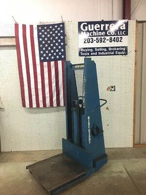 Blue Giant 1500lb Capacity Walk Behind Lift - Built In Charger