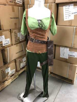 WOMEN'S ROBIN HOOD MAID MARION COSTUME SIZE SMALL (Robin Hood Women)
