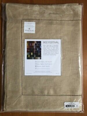 "Sferra Luxury Linen Festival Table Placemats Sand 14""x20"" (set of 4)"
