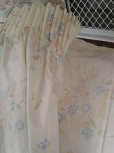8 PAIRS OF CURTAINS- ASSORTED STYLE & PRINTS WITH RODS & RINGS Homebush Strathfield Area Preview