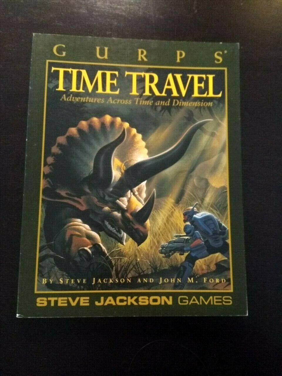 GURPS - Time Travel - SJGO1695 6020