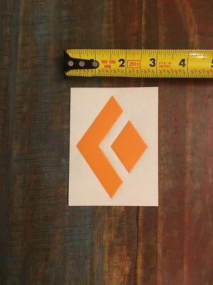 4a8b617a6fe1 Black Diamond Orange Logo Sticker Decal Climbing Outdoor Approximately 3