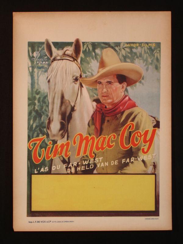 Tim McCoy 1940