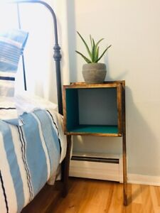New Solid Wood Bedside Tables. $80 for a set!