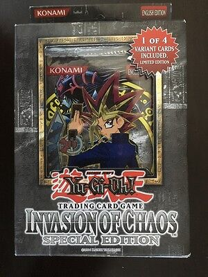 Brand New Yu-Gi-Oh! Invasion of Chaos Special Edition Pack Chaos Special Edition Pack