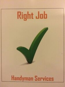 Right Job Handyman Services Port Kennedy Rockingham Area Preview