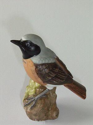 Goebel Vogel Gartenrotschwanz - neuwertige Porzellanfigur