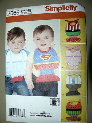 Superman Halloween Costumes For Babies (Simplicity Pattern 2066 Babies' Bibs Costumes baby superman elf halloween)