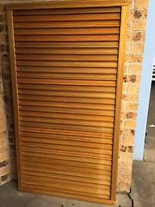 DIY ALU LOUVRE GATE PER SQUARE METER-TIMBER FINISH- ANY SIZE WANT Arndell Park Blacktown Area Preview