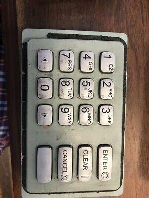 Hyosung Tranax Nh1800senh1500 Nh1800ce Atm Keypad Eep- 5000k Green Bad Battery