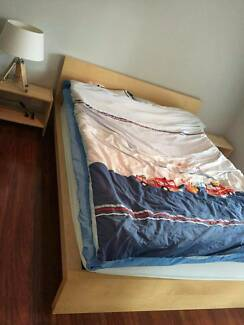 Queen Size Bed and Mattress In Good Condition