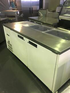Williams Stainless Steel Sandwich Preparation Bench HJ2SCBA-000-N
