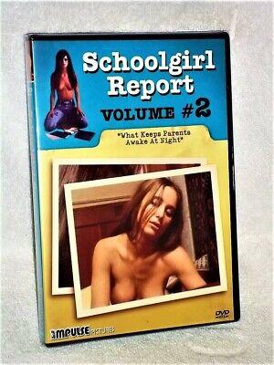 Teen Schoolgirl Movies (Schoolgirl Report 2 (DVD, 2007) NEW psuedo documentary drama german)