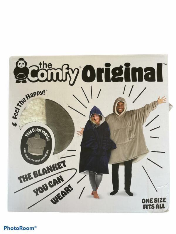 THE COMFY Original | Oversized Microfiber & Sherpa Wearable Blanket, Seen On