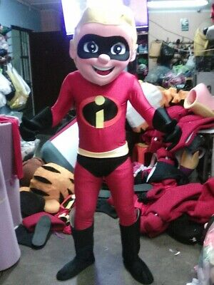 Dash Parr The Incredibles Mascot Costume Halloween Party Character - The Incredibles Characters Costumes