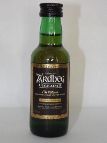 Uigeadail Whisky single malt 50 ml 54,2 % vol. mini flaschen bottle miniature