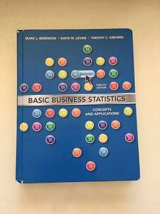 Basic Business Statistics 12th ed, Berenson, MPA, accounting book Queens Park Canning Area Preview