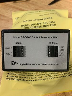 Sgc-200a-din Current Sense Amplifier