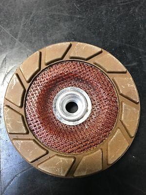 Sase 5 Medium Quikcut Edge Wheel 3 Step Polish Concrete Edge Diamond Cup Wheel