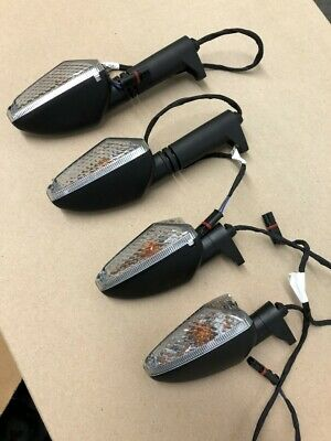 BMW R 1200 GS/GSA WATER COOLED - OEM TURN SIGNALS COMPLETE SET - IN PRISTINE CON