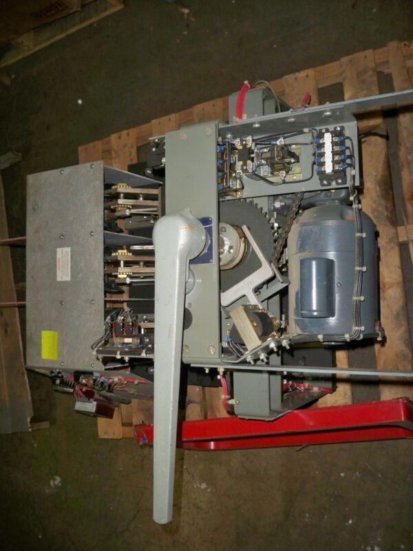 Blo34300-spec Square D Switch, 3000a, 480v, Eo, W/ 120v/gfi Motor