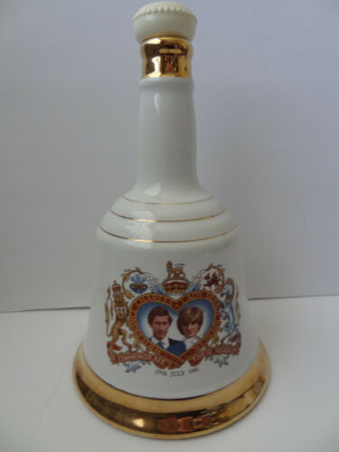 PRINCE CHARLES & LADY  DIANA 1981 Wedding Commemorative Liquor Decanter