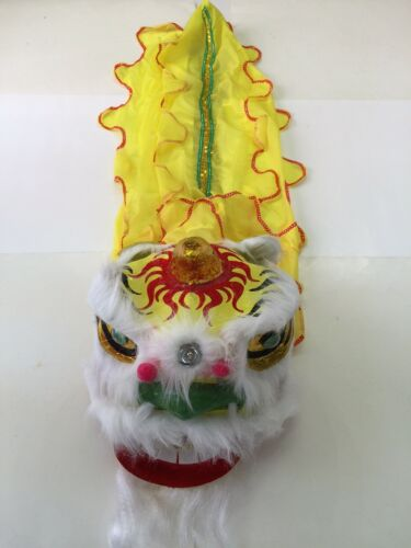 """13"""" CHINESE NEW YEAR LION DRAGON HEAD DANCE DECORATION"""