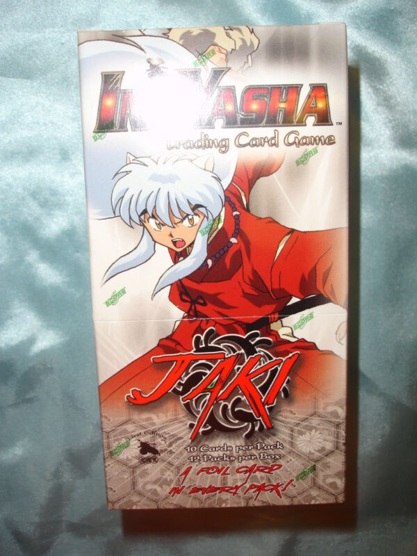 Inuyasha Jaki TCG/CCG Sealed Booster Box (12 packs of cards)