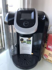 Keurig 2.0 coffee maker with 20+ capsule