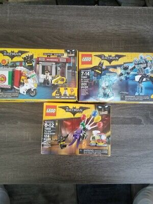 Lego Batman Movie Lot of 3 Brand New And Sealed