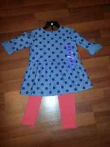 NWT Carter's Tunic & Leggings Set