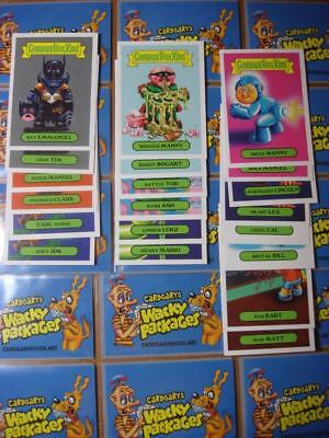 2019 GARBAGE PAIL KIDS WE HATE THE 90'S CLASSIC SET 20/20 CARDS HOBBY (Garbage Pail Kids Cards)