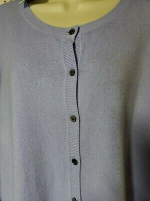 Womens Croft & Barrow Extra Cozy Cardigan button Sweater NEW Blue Long Sleeve 3X (Womens Cozy Cardigan)