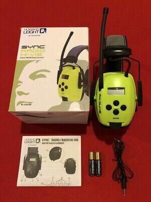 Howard Leight By Honeywell Sync Hi-visibility Digital Amfm Radio Earmuff 10...