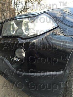 Böser Blick Blenden Spoiler Tuning -2010 RDX Scheinwerferblenden BMW X3 E83