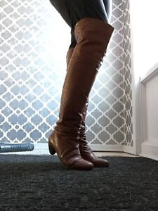 Rudsak Leather Over the Knee Boots
