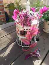 Ornamental bird cage with pot plant inside Kahibah Lake Macquarie Area Preview