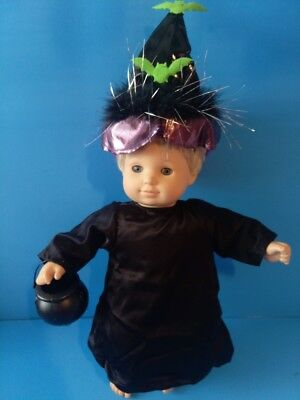 CLOTHES BITTY BABY / TWINS WITCH HALLOWEEN COSTUME