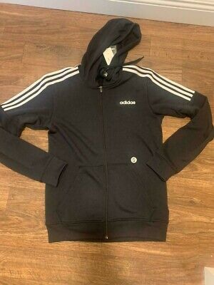 Mens Adidas French terry full zip sweatshirt hoody active wear sweater
