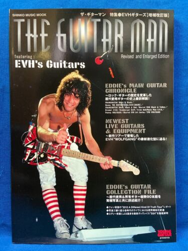Eddie Van Halen The Guitar Man Revised Japan Book EVH 2020 Reprint Edition