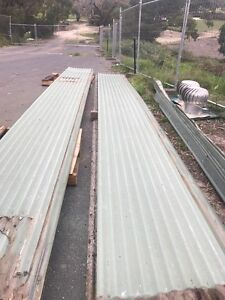 Recycled green colorbond corrugated roof iron 7.8 m Vic Dromana Mornington Peninsula Preview