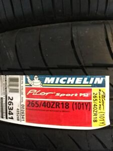 Brand new 265-40-18 Michelin pilot sport PS2