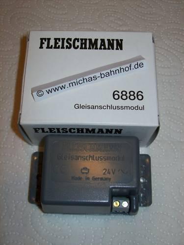 6886 Gleisanschlussmodul für FMZ Booster Fleischmann  LB3 µ *