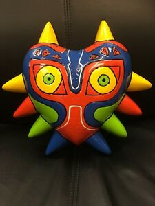 GB-mazoras-Mascara-Nintendo-N64-Zelda-Plastico-de-Halloween-Disfraz-Traje