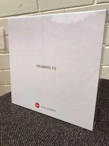 BRAND NEW SEALED UNOPENED HUAWEI P9 NO LOCK!!! 32 GB TITANIUM G Adelaide CBD Adelaide City Preview